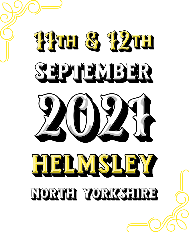 11th & 12th September 2021, Helmsley, North Yorkshire